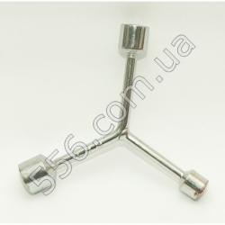 N971 Ключ 3х сторонний 12-14-17 mm