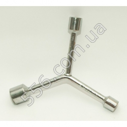 N972 Ключ 3х сторонний 11-13-15 mm