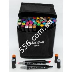 Набор фломастер-маркер цветной 2-х сторонний